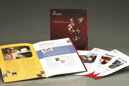 Banner Pharmaceuticals – Corporate materials designed by Jolt Interactive for this global corporation