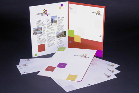Pickering and Company – Corporate materials designed by Jolt Interactive for a property management company