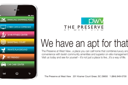 The Preserve at West View – Ad campaign developed by Jolt Interactive for a residential community