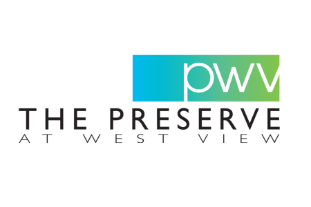 The Preserve at West View – Logo for an upscale apartment community in Greer, SC