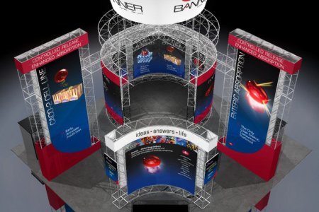 Banner Tradeshow Exhibits – Jolt Interactive has designed tradeshow booths and exhibits for several clients