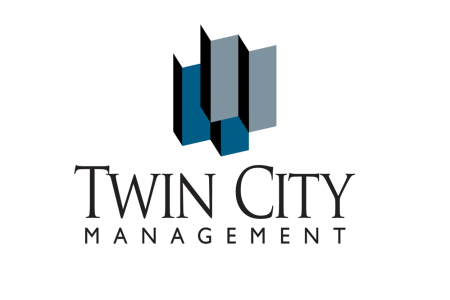 Twin City Management – Logo for property management company
