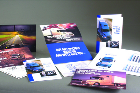 Volvo Trucks – Direct mail and promotional materials for Volvo Trucks