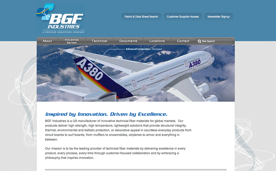 BGF Industries – a US manufacturer of innovative technical fiber materials for global markets