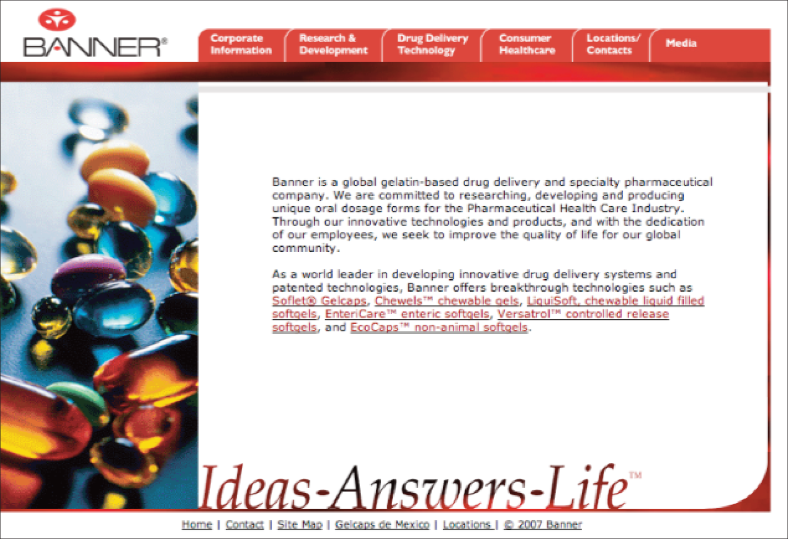 Banner Pharmaceuticals – a global leader in the development of value-added drug delivery systems