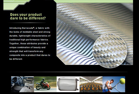 BGF Industries – Email campaign promoting the strength and unique attributes of one of their woven fabrics.