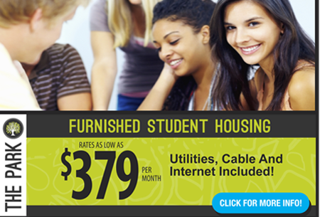 Burkely Student Communities – Email campaign for a student housing community targeted toward students of UNC Greensboro